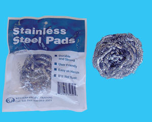STAINLESS STEEL PAD